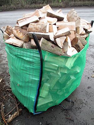 sack of firewood