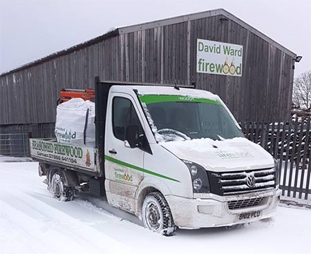 David Ward delivers in any weather
